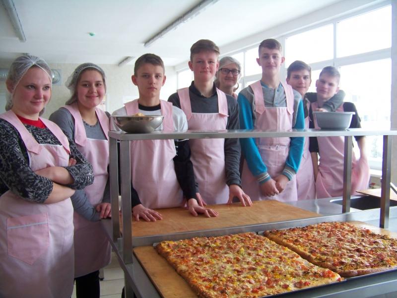 Pamoka Vilniaus turizmo ir prekybos verslo mokykloje