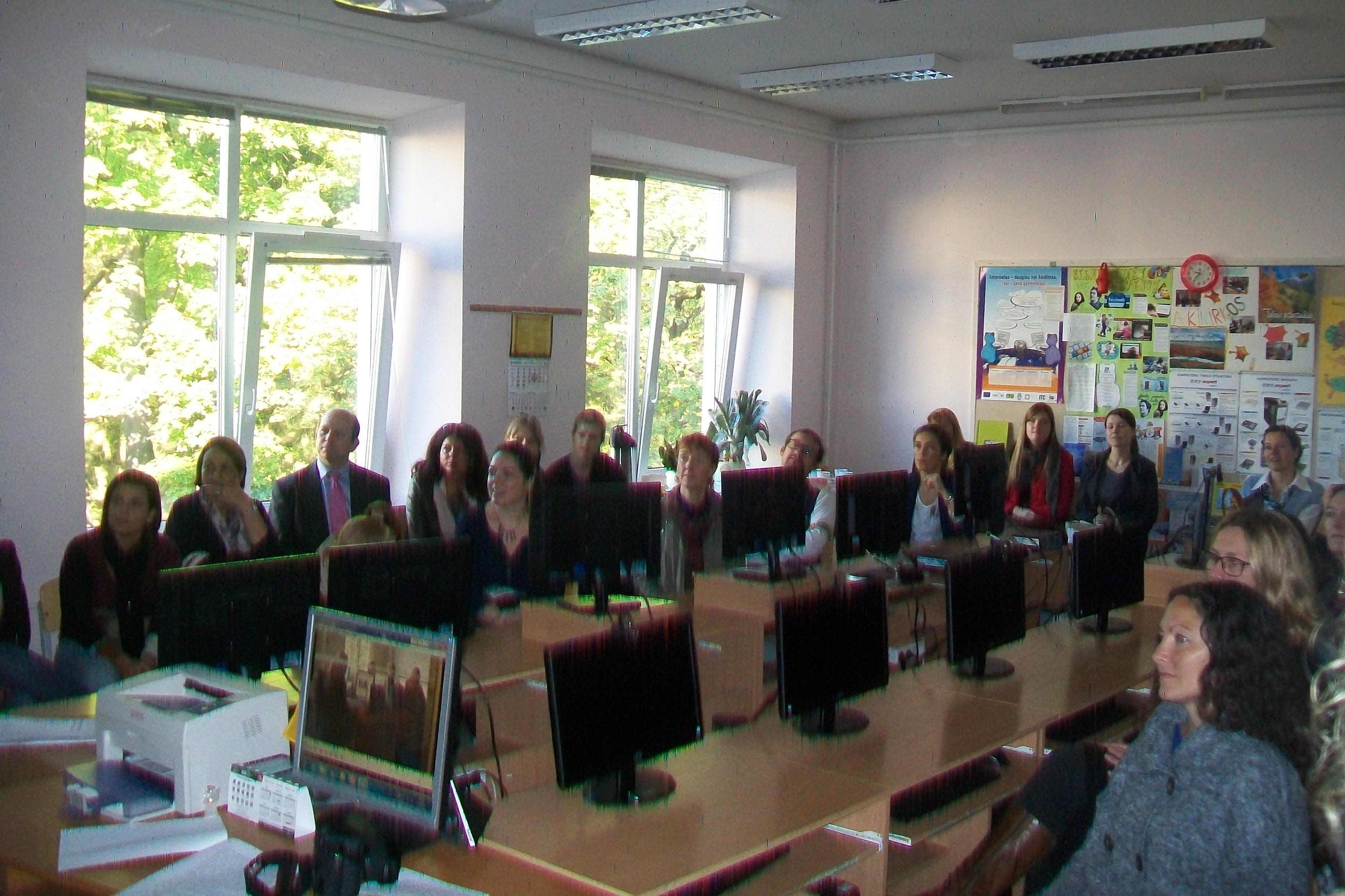 Tarptautinės INSAFE konferencijos dalyvių viešnagė LKNUC