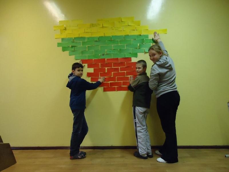 Mokinių sveikinimai Lietuvai