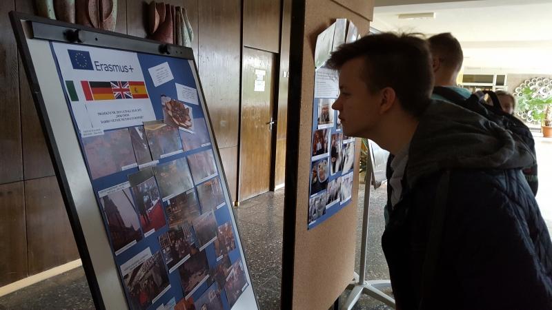 Mokinių vizitas į Vilniaus turizmo ir prekybos verslo mokyklą