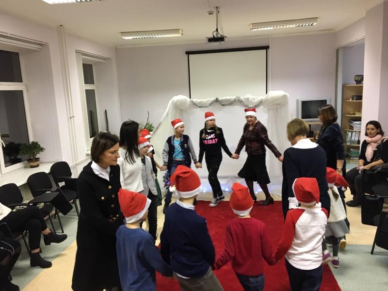 Kalėdinis renginys švietimo pagalbos, vertinimo ir konsultavimo skyriaus ugdytiniams