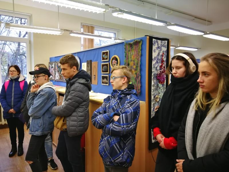 I ir II gimnazijos klasių mokinių išvyka į VTMRC