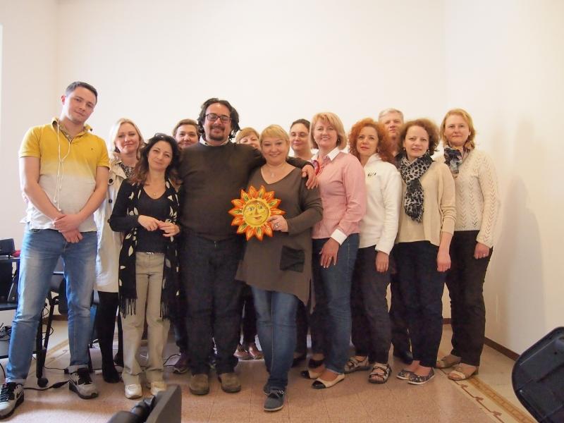 """LKNUC pedagogai  ERASMUS+KA1 """"ES šalių patirtis kurčiųjų profesinio orientavimo kontekste"""" projekte"""