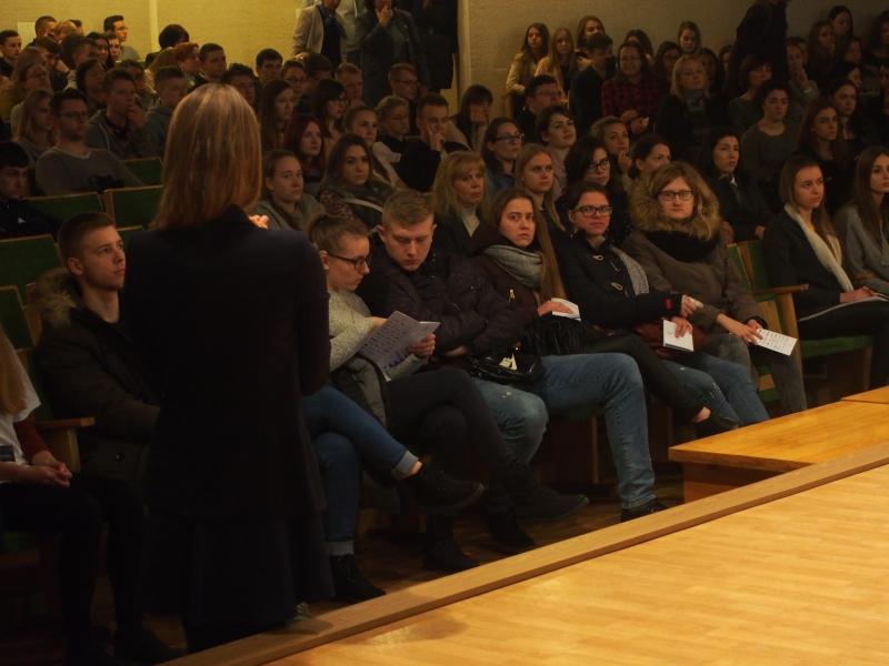 LKNUC mokiniai Vilniaus Kolegijoje