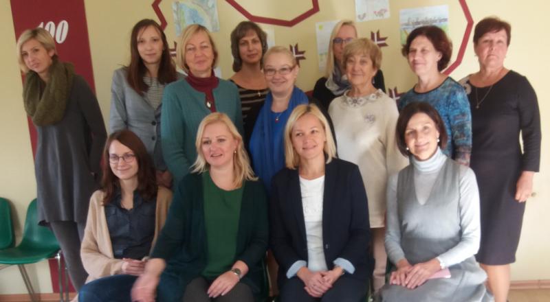 Centro mokytojų – Erasmus+ programos projekto partnerių vizitas Latvijoje