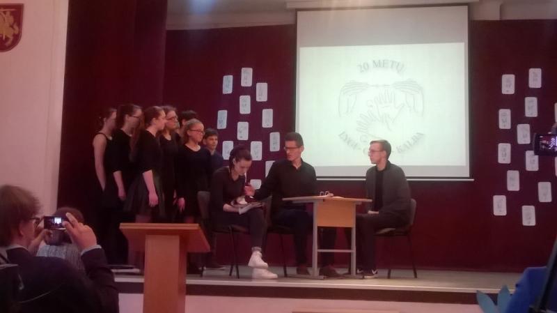Minėjimas, skirtas Lietuvių gestų kalbos pripažinimo kurčiųjų gimtąja kalba 20-ies metų jubiliejui