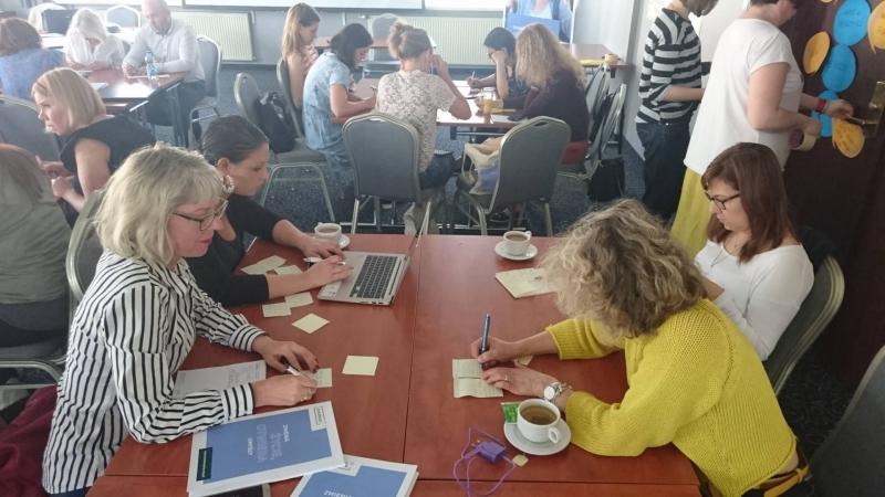 """Įspūdžiai iš programos  """" Erasmus +"""" teminio seminaro, skirto specialiosioms mokykloms, Varšuvoje"""