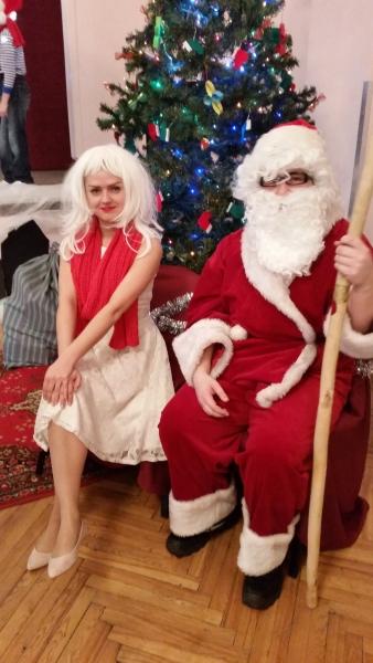 Mažiukų kalėdinė šventė